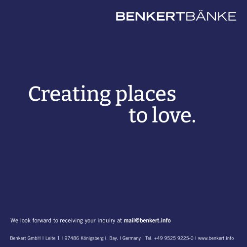 BENKERT BAENKE main catalogue 2016