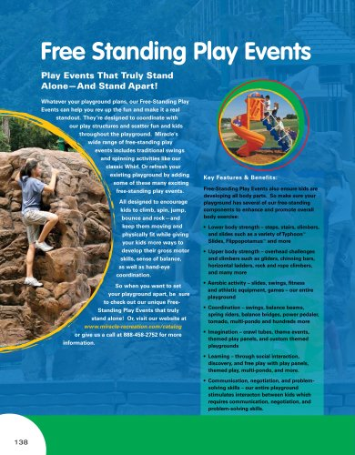 Catalogue 2008 Free Standing Play Events