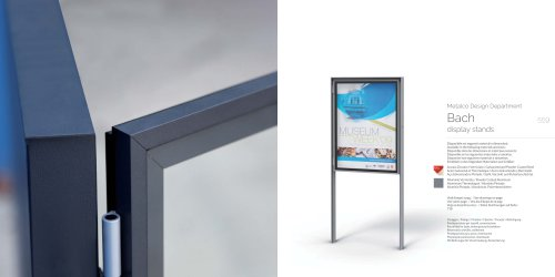 Bach display stands