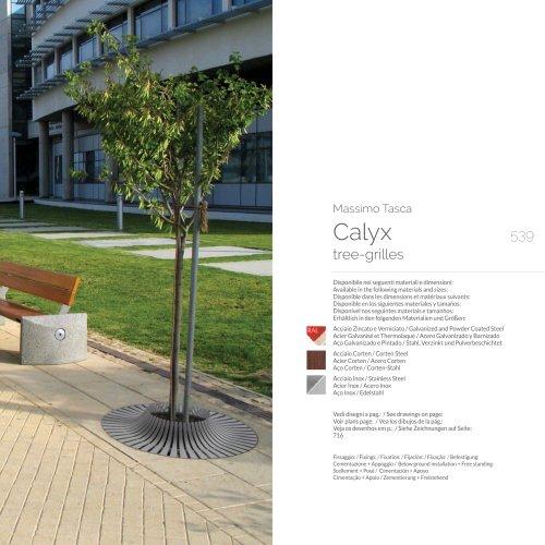 Calyx tree-grilles