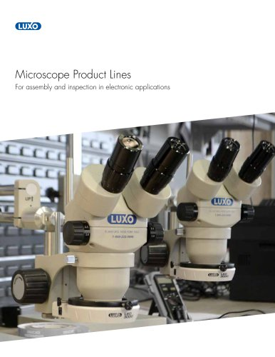 Luxo Microscope Product Lines