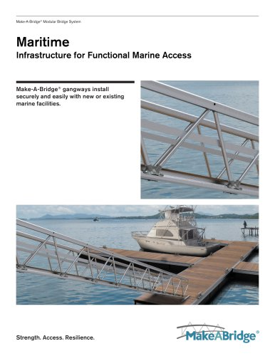 Make-A-Bridge® Modular Bridge - Maritime
