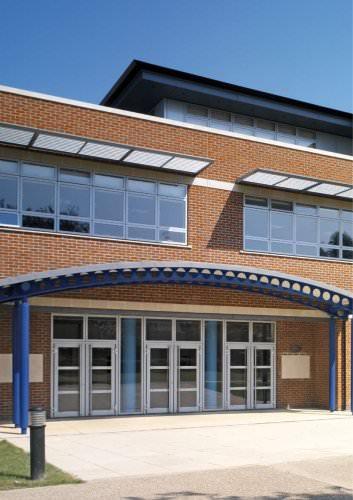 VELFAC 500 Aluminium entrance doors