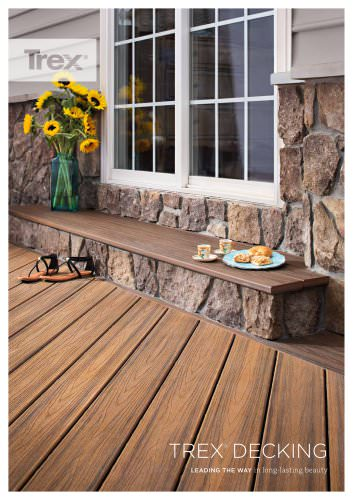 Porch flooring & railing system