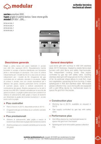 model EM 90/ ...GRL...