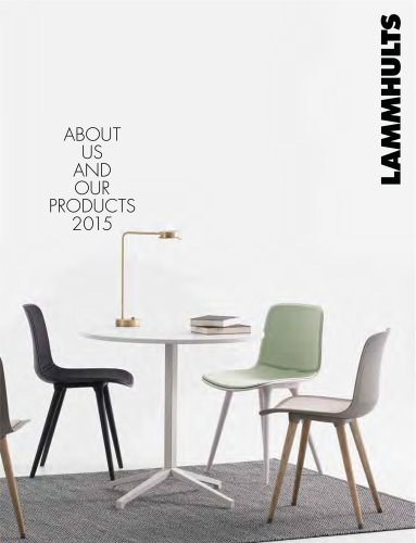 ABOUT US AND OUR PRODUCTS 2015