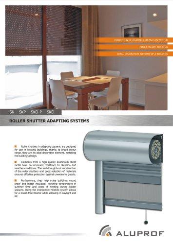 Brochure Roller Shutter Adapting systems