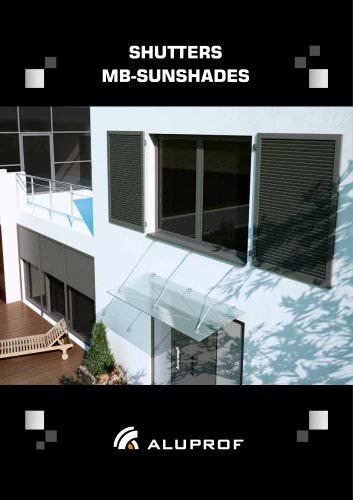 SHUTTERS MB-SUNSHADES