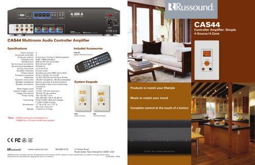 CAS44 Brochure