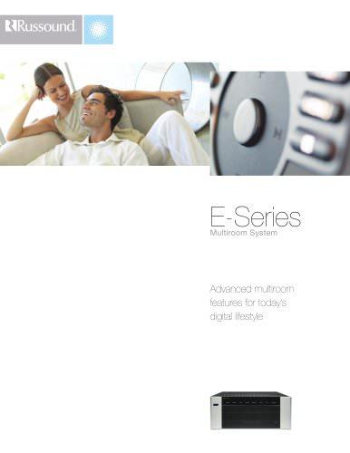 E-Series Brochure