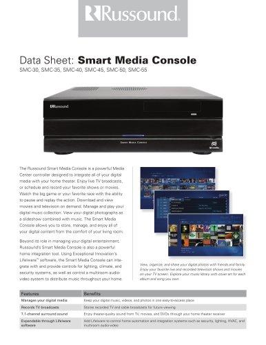 Smart media console
