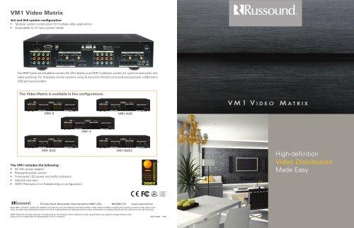 VM1 Brochure