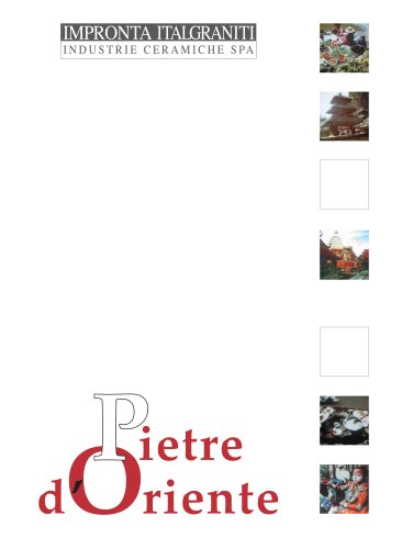 PIETRE D'ORIENTE