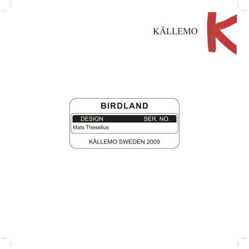 Birdland, Mats Theselius, 2010