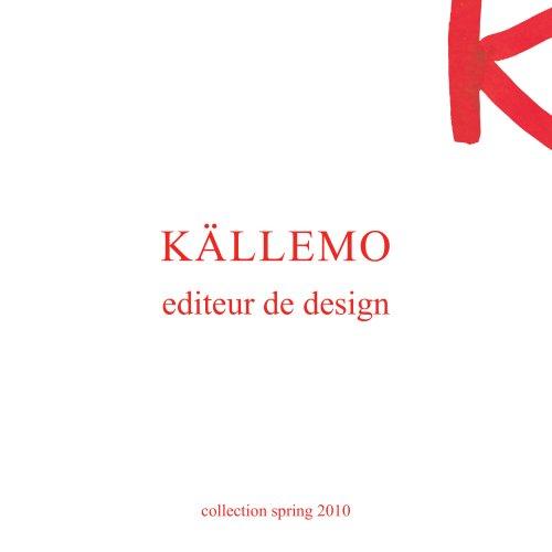 Källemo Collection Spring, 2010