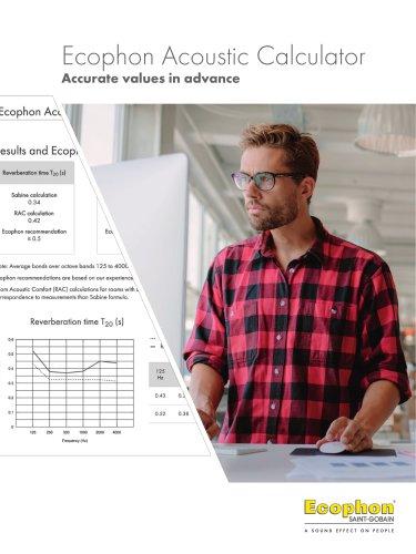 Ecophon Acoustic Calculator