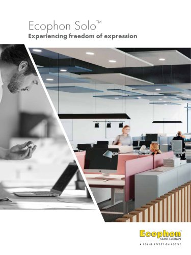 Ecophon Solo™ Experiencing freedom of expression