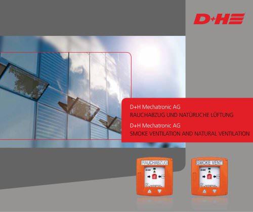 Smoke ventilation and natural ventilation