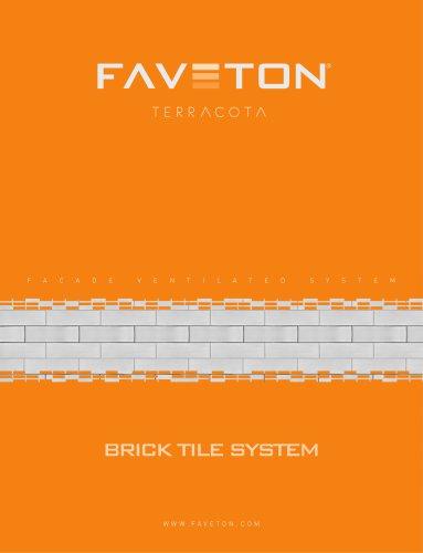 BRICK TILE SYSTEM