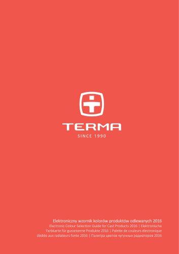 Terma Colours Cast Iron Radiators