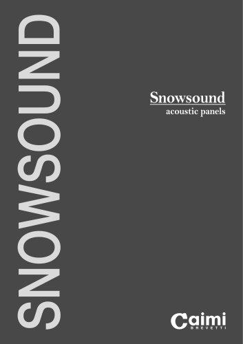 Snowsound acoustic panels