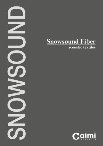 Snowsound Fiber acoustic textiles