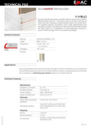 Novocanto® Methacrylate