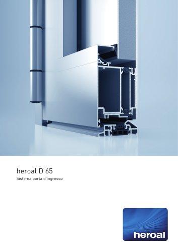 heroal D 65 porta d'ingresso
