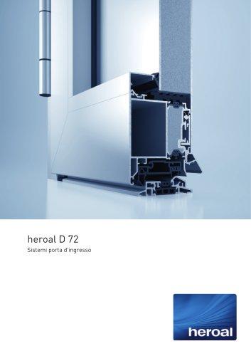 heroal D 72 porta d'ingresso