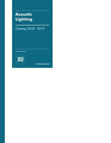 Acoustic Lighting Catalog 2018-2019