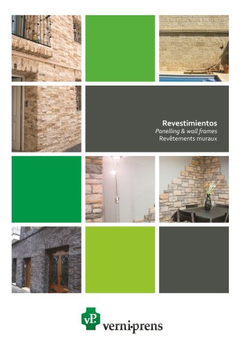 Panelling & wall frames catalog