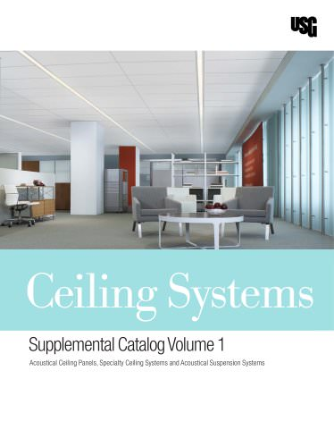 Ceiling Systems Catalog Supplement