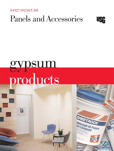 Gysum Products Panels and Accessories Catalog