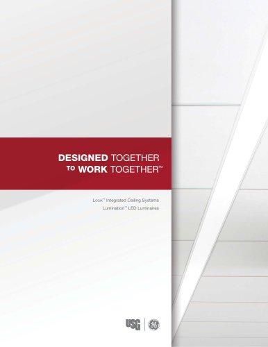 USG GE Collaboration for Logix™ Integrated Ceiling System