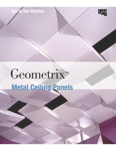 USG Geometrix® 3D Metal Ceiling Panels