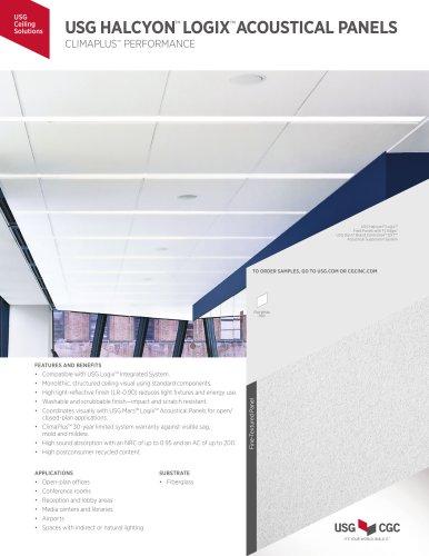 USG HALCYON™  LOGIX™  ACOUSTICAL PANELS