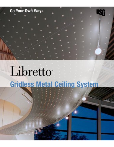 USG Libretto™ Gridless Metal Ceiling System
