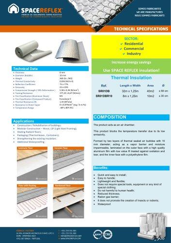 Insulation SPACEREFLEX SR01DB