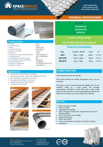 Insulation SPACEREFLEX SR41