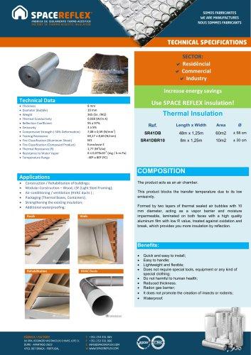 Insulation SPACEREFLEX SR41DB