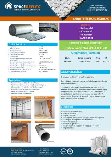 Insulation SPACEREFLEX SR42DB