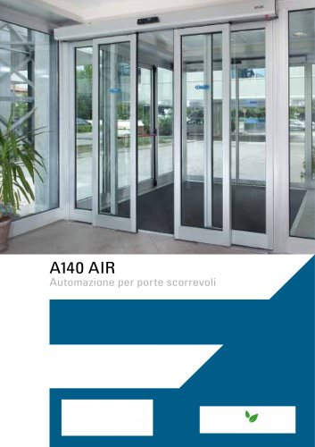 A140 AIR - Porta scorrevole Energy saving
