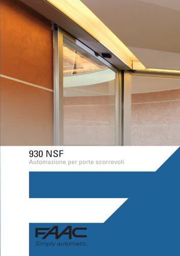 Porte Automatiche 930 NSF