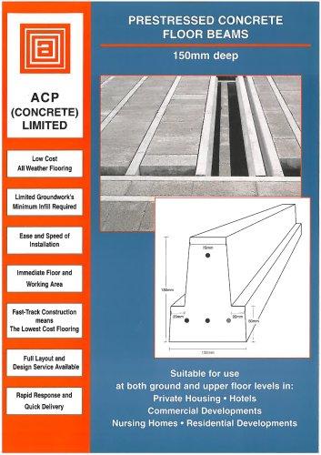 150mm Deep Beam & Block Flooring Brochure