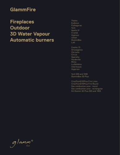 GlammFire - Catalogue for Architects