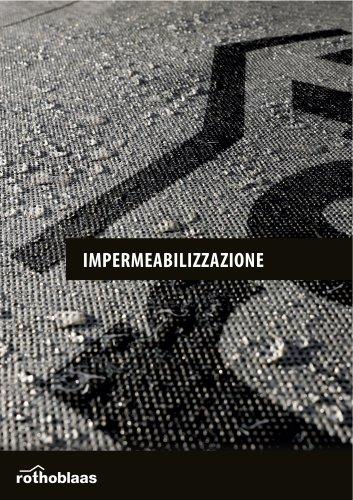 Impermeabilizzazione