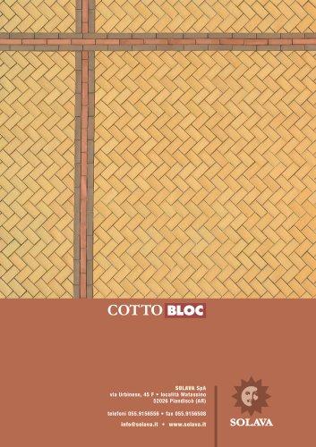Brochure Cottobloc, terracotta self-blocking brick_yellow
