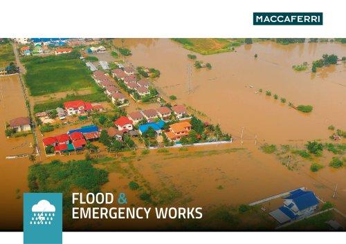 Flood and Emergency Brochure