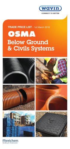 Below Ground & Civils Systems