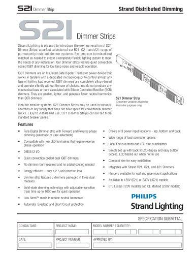 S21 Dimmer Strip